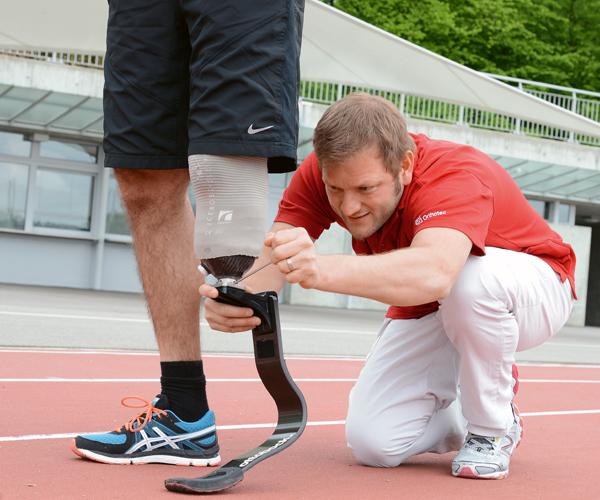 Orthopädietechnik Orthotec - Schweizer Paraplegiker-Stiftung