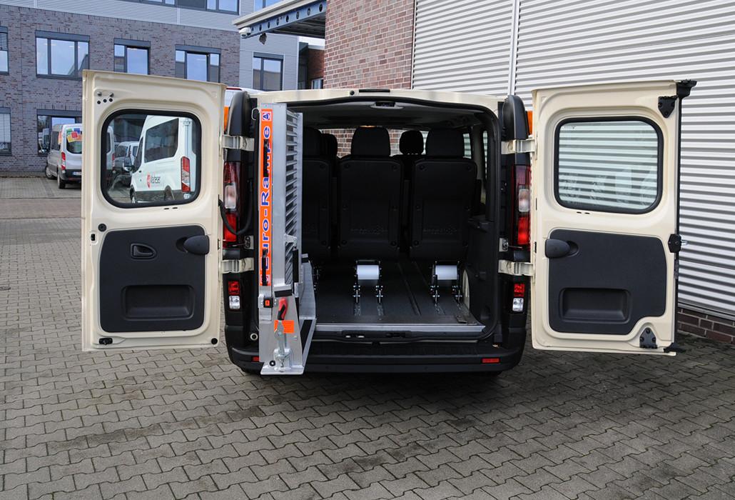 Orthotec Fahrzeugumbau Fahrzeugrampen Schwenkbare Eurorampe