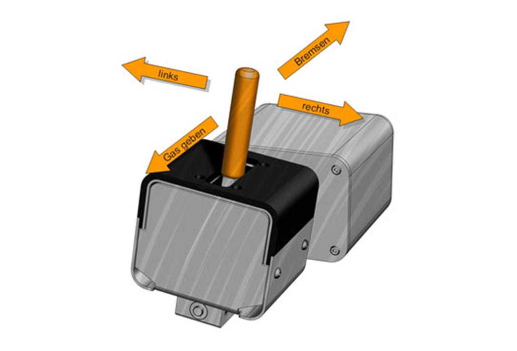 Orthotec Fahrzeugumbau Joysteer 4Wege Joystick