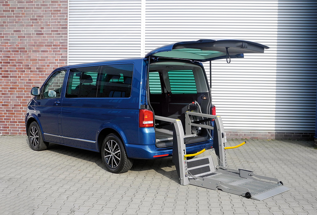 Orthotec Fahrzeugumbau Rollstuhllifte Panorama Linear Lift AL1
