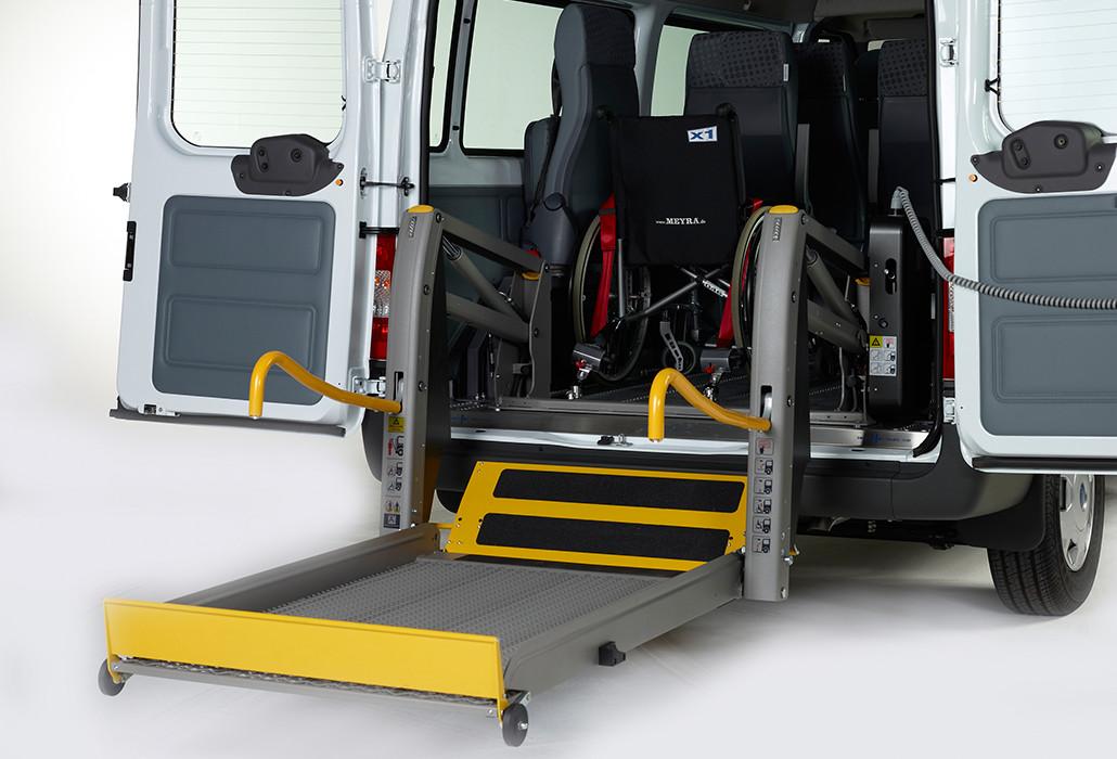 Orthotec Fahrzeugumbau Rollstuhllifte Solid Linear Lift AL1