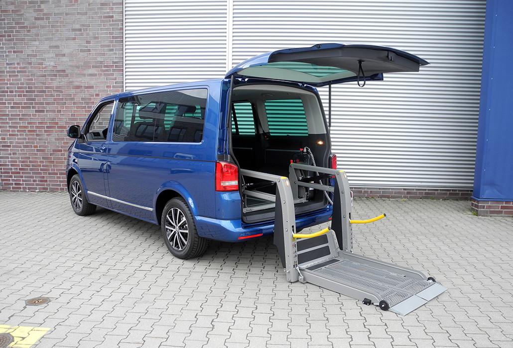 Orthotec Fahrzeugumbau Rollstuhllifte Split Linear Lift AL1