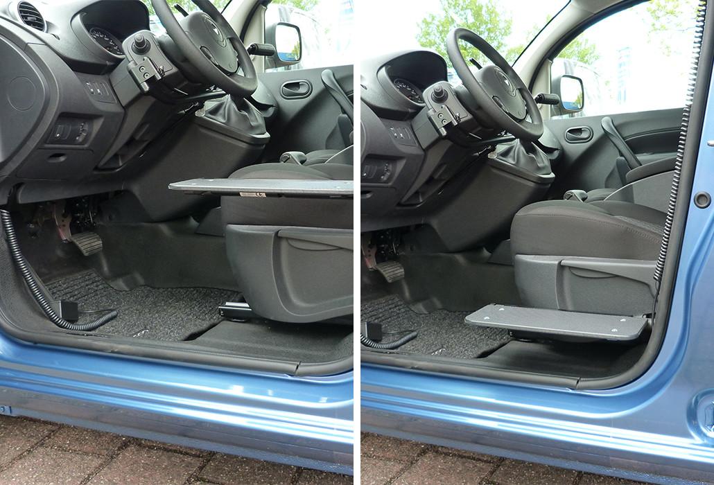 Orthotec Fahrzeugumbau Transferieren Hoehenverstellbares Rutschbrett