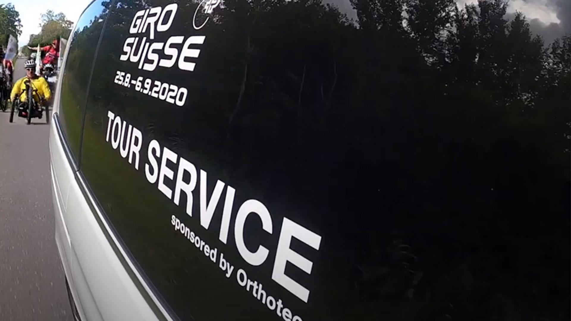 Orthotec Giro Suisse Tour Service