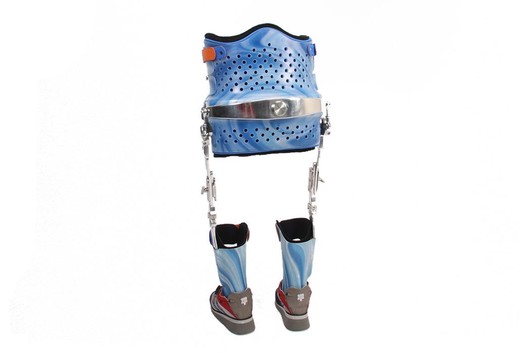 Orthotec Orthopaedietechnik Orthesen reziproke Gehorthese Rückenansicht