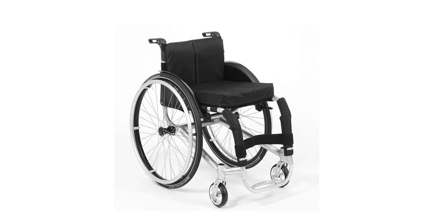Orthotec Rehabilitationstechnik Aktiv-Rollstuhl Otto Bock Invader Alltag