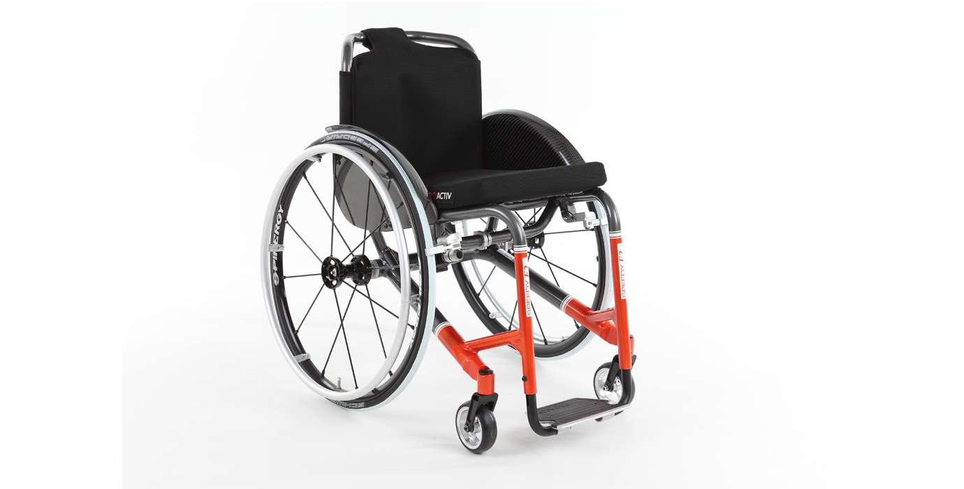 Orthotec Rehabilitationstechnik Aktiv-Rollstuhl Pro Actic Speedy F2