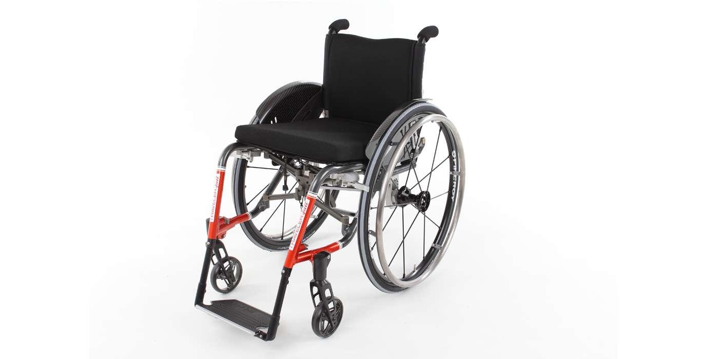 Orthotec Rehabilitationstechnik Aktiv-Rollstuhl Pro Activ Traveler 4all ergo