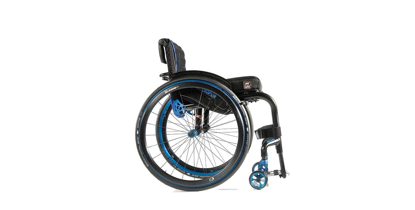 Orthotec Rehabilitationstechnik Aktiv-Rollstuhl Sunrise Sopur Helium