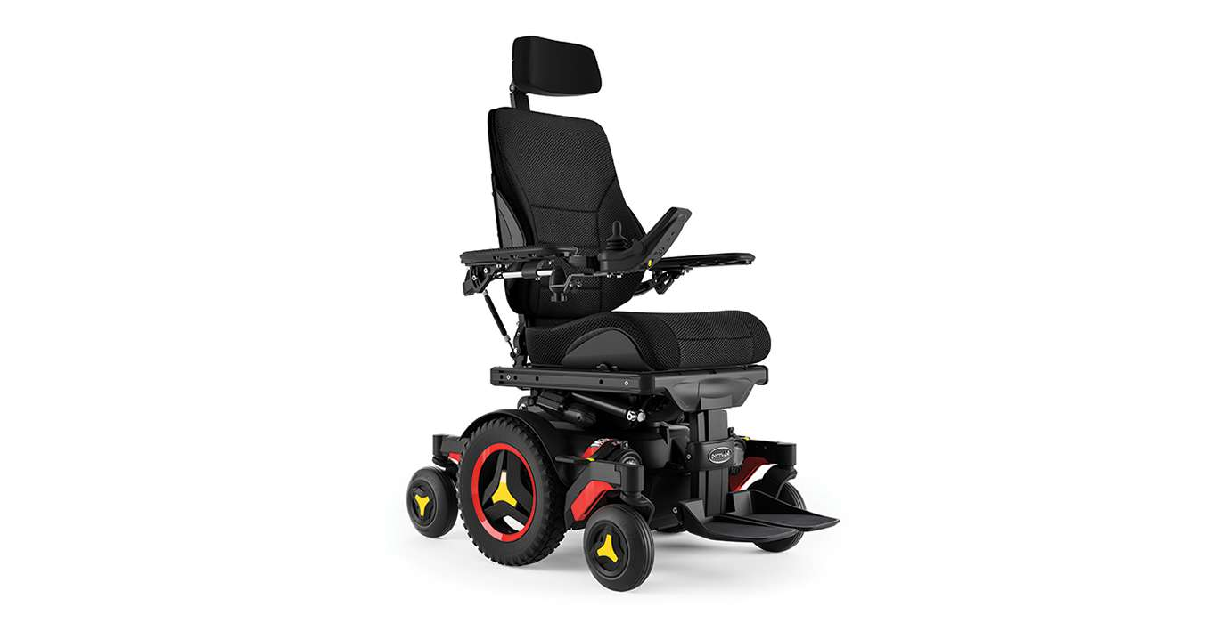 Orthotec Rehabilitationstechnik Elektro-Rollstuhl Innenbereich- und Aussenbereich Permobil M3 mit Sitzlift