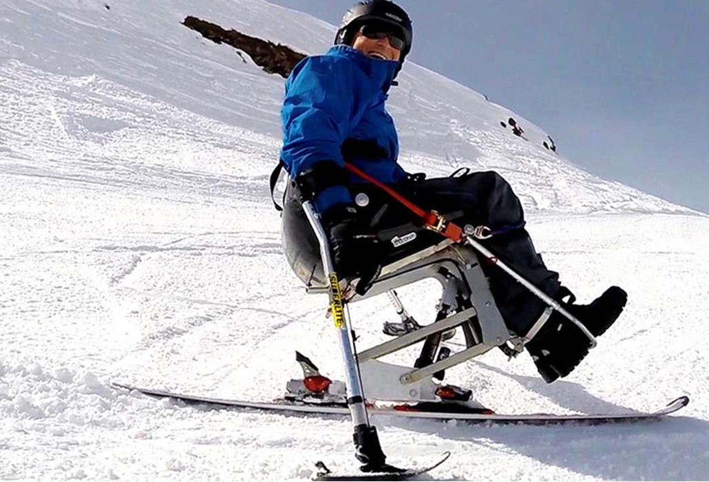 Orthotec Rehabilitationstechnik Sportgeraete Ski Bob Unicent Impuls outdoor