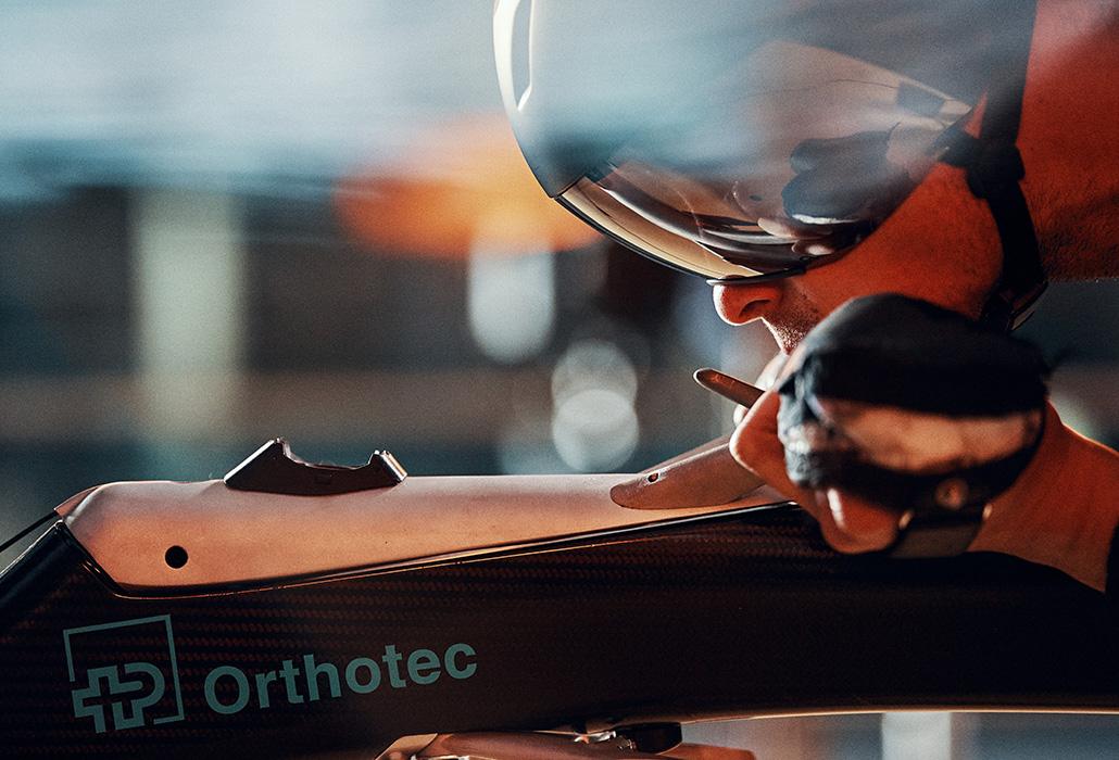 Orthotec Rollstuhlsport Foxx im Windkanal