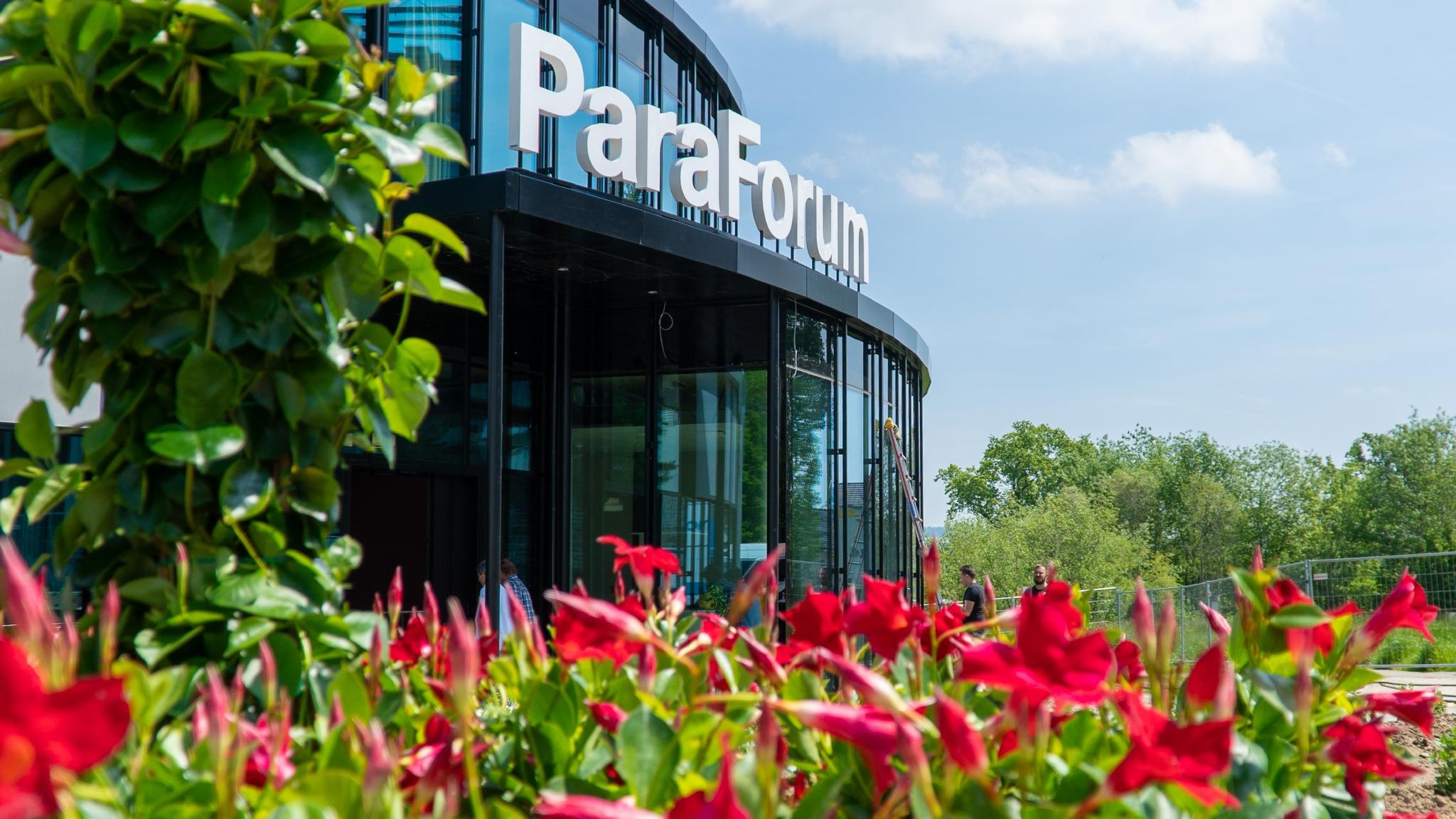 Das Besucherzentrum ParaForum in Nottwil.