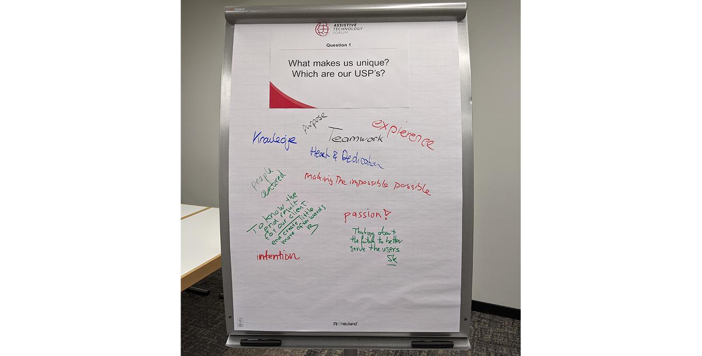 Frage 1: Was macht uns einzigartig? Welches sind unsere USP's?