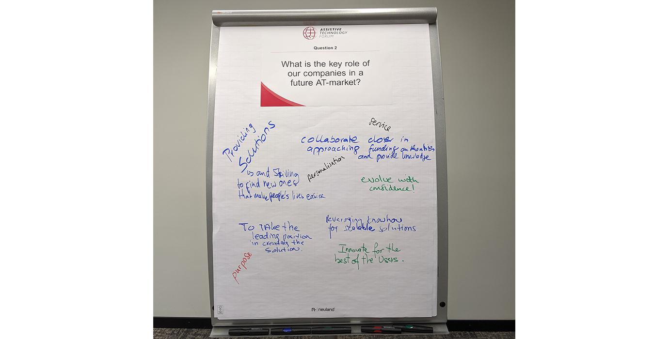 Frage 2: Welches ist die Schlüsselrolle unserer Unternehmen in einem künftigen AT-Markt?