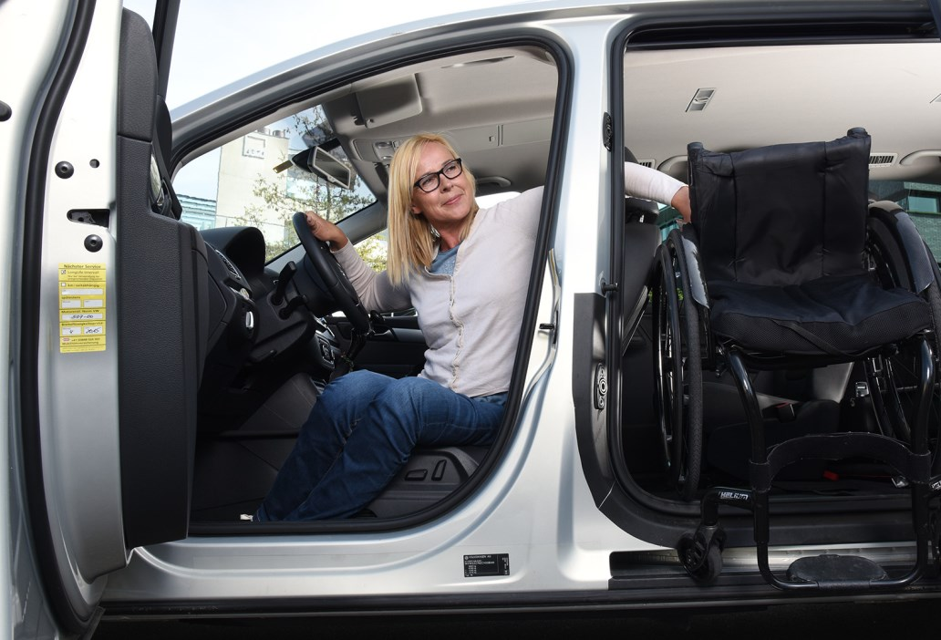 Rollstuhlfahrer - ein Leben mit Querschnittlähmung