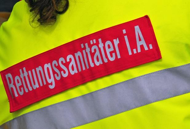 Rettungssanitäter in Ausblidung