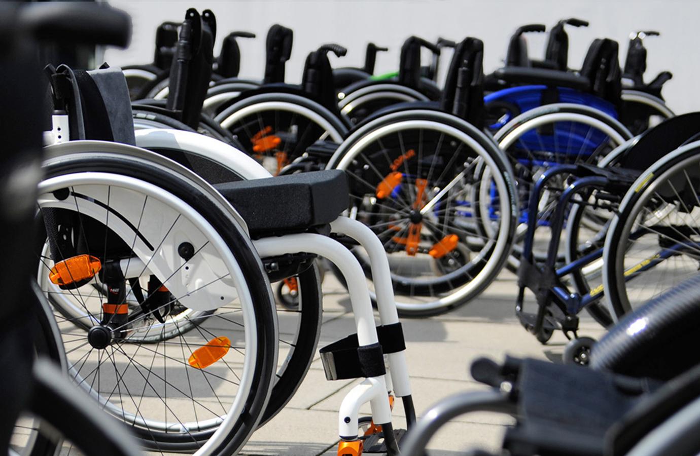 Centro per la seduta in sedia a rotelle