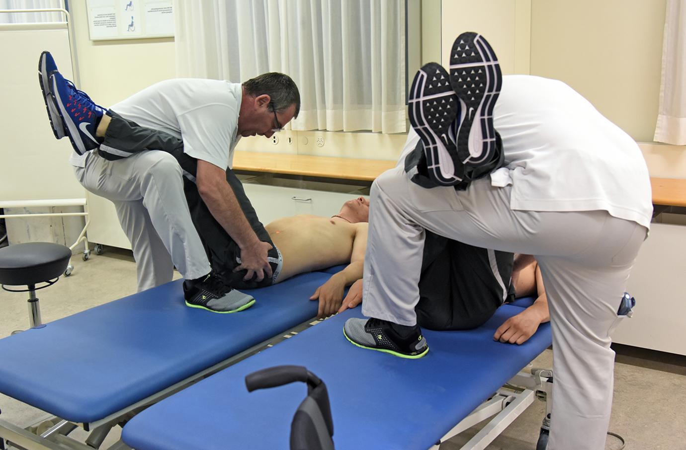Rollstuhl-Sitz-Zentrum-Anpassung Sitzposition