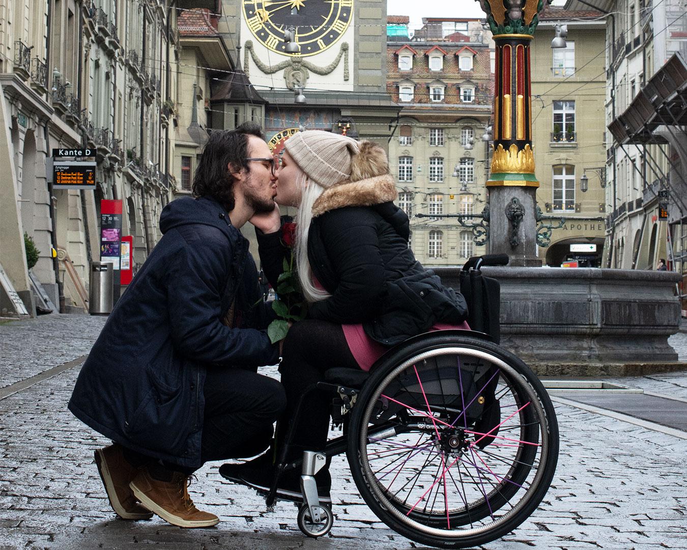 Sandra Sucic Valentinstag Schweizer Paraplegiker-Stiftung