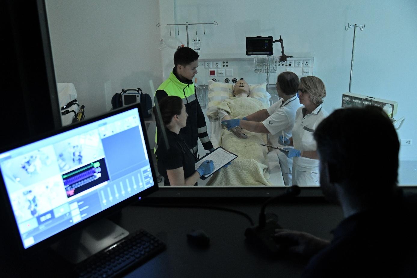 Schockraum Training Sirmed SimCenter