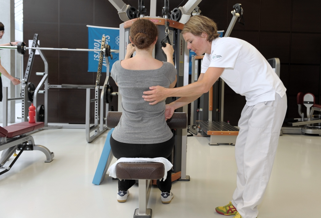 Sport-Physiotherapie in der Sportmedizin Nottwil