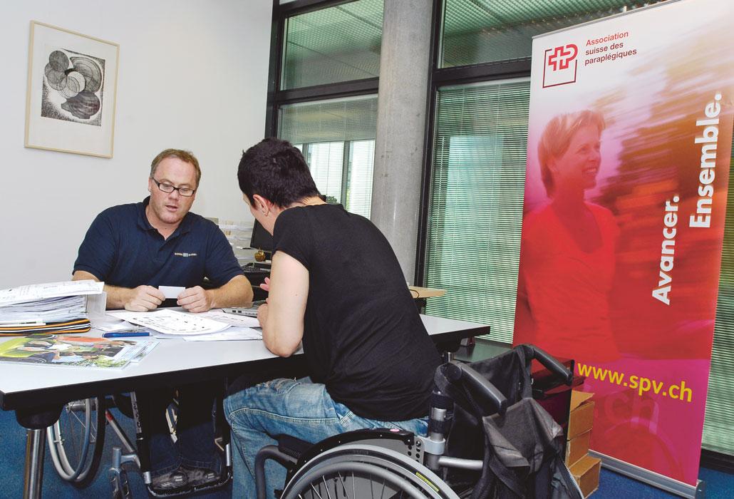 Beratung von Rollstuhlfahrern für Rollstuhlfahrer