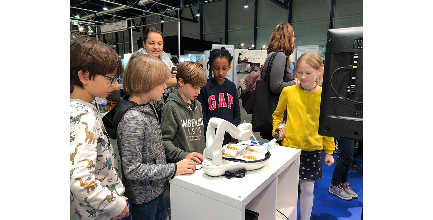 Am Freitag besuchten 34 Schulklassen die Swiss Handicap-Messe.