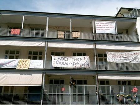 Das ehemalige Basler Kinderspital: Hier stürzte Simon Hitzinger 12 Meter in die Tiefe.