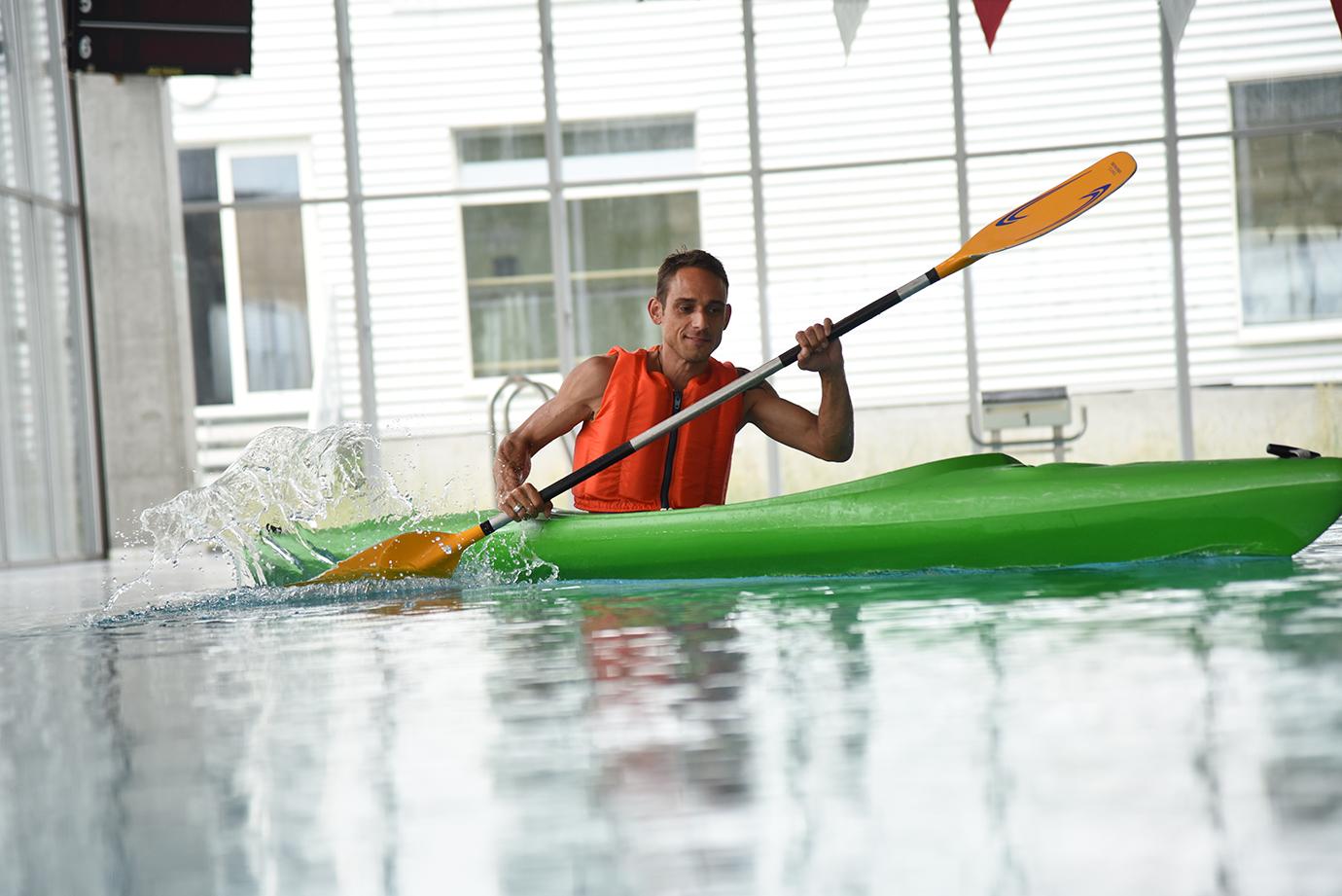 Sporttherapie Kajak
