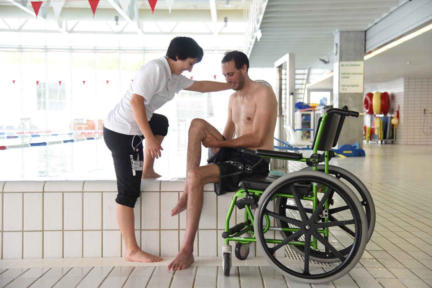 Sporttherapie Schwimmen